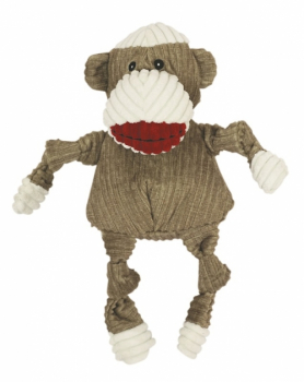 Sock Monkey Knottie brown small