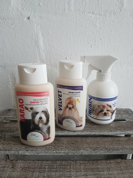 BEA natur Spar Set - Farao Shampoo 220ml, Velvet Conditioner 220ml und Rubin Kämmhilfe 250ml. Wert 33,85