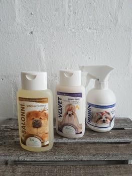 BEA natur Spar Set - Kokosnuss Shampoo 220ml, Velvet Conditioner 220ml und Rubin Kämmhilfe 250ml. Wert 32.85