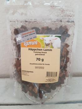 Lamm Häppchen -  Trainingssnack 70g