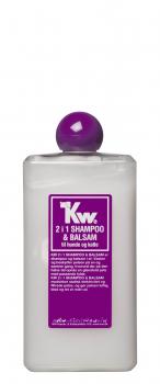 KW 2 in 1 Shampoo und Conditioner in einem. 500ml