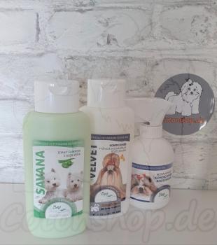 BEA natur Spar Set - Savana Shampoo 310ml, Velvet Conditioner 310ml und Rubin Kämmhilfe 250ml. Wert 37,85